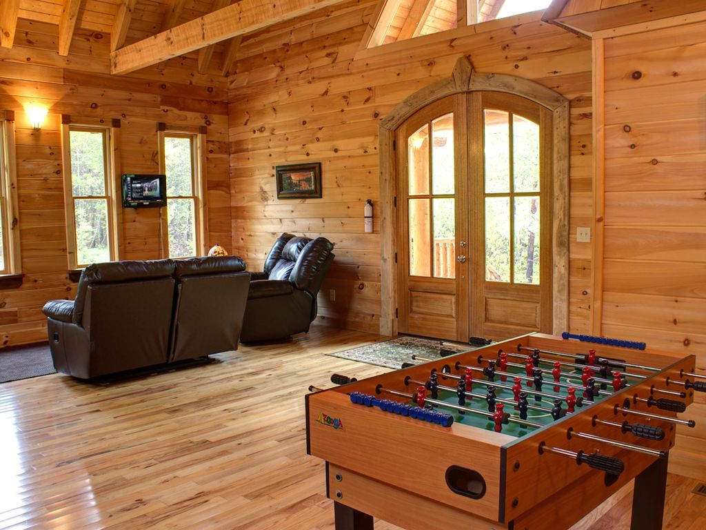 cedar luxury cabin in secluded very creek anything days not march starting rentals on ga to helen close escape cabins pin georgia birthday for