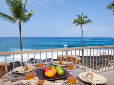 Photo for Upgraded Deluxe 1 Bedroom Oceanfront Condo, Free Wifi, Fully Air Conditioned