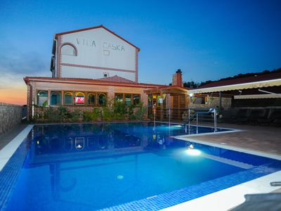 Photo for Vila Caska -ap2 - for 2 people- Zrce beach, pool, wifi, air conditioner, seaview