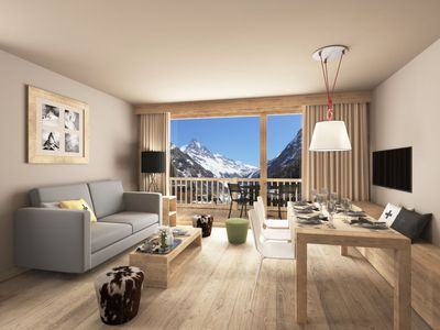 Photo for Apartment Swisspeak Resorts Sud  in Zinal, Val d'Anniviers - 6 persons, 2 bedrooms