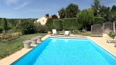 Photo for Large house of character and charm, private pool, vineyard Cahors, Lot