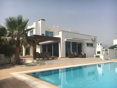 Photo for Large, Luxury Villa With Private Pool And Metres From The Sea