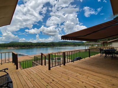 Photo for Butterfly House - Why Drive To The Coast? 100' Beach, New Boat Dock with Slip