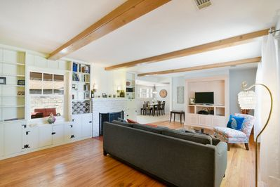 This beautiful home has a very bright and open layout