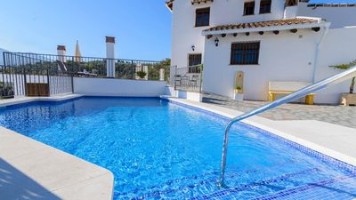 Photo for Fabulous holiday home with views near the Sierra de las Nieves