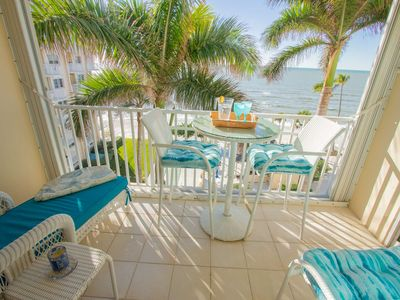 Photo for Continental Club-Lovely 6th Flr. Beach Front Condo-Enjoy Panoramic Gulf Views & Amazing Sunsets!
