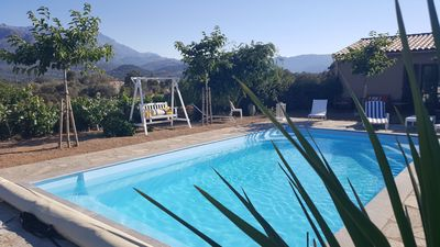 Photo for Villa, detached house with private pool in the countryside, 7 km from the sea