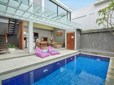 Photo for High Value for Money, 2 Unit 2 Bedrooms Private Pool Villa in Nusa Dua Area