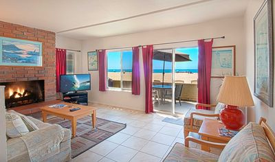 Photo for Location! This lower unit is on the sand & just a few steps from the boardwalk!
