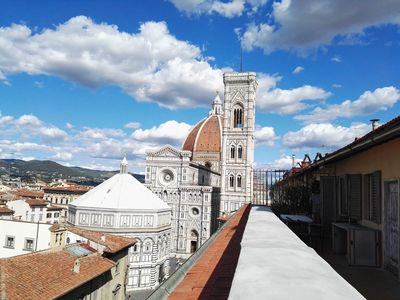 Photo for Apartment in the heart of Florence with a terrace overlooking the Duomo