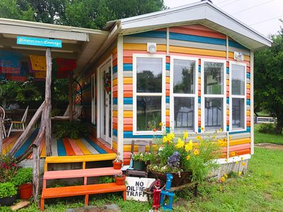 Photo for Hippies & Cowboys: One bedroom tinyhome 2.6 miles from the Frio River