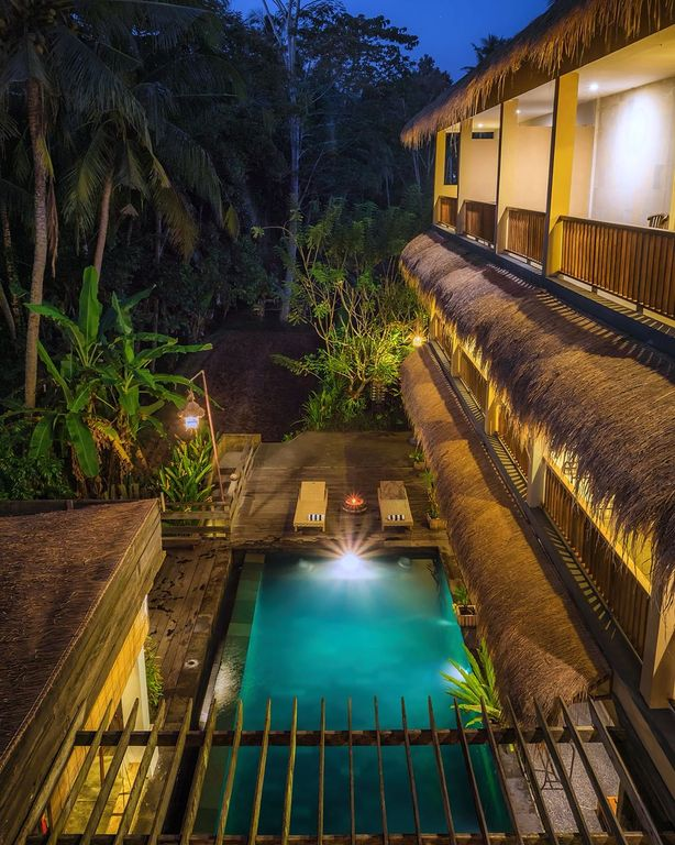 Charming one bedroom close to Ubud with a shared infinity-edge swimming  pool - Tampaksiring
