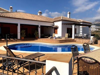Photo for Frigilana- Stunning 4 bed Villa with private pool and spectacular views