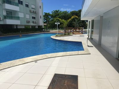 Photo for We have 2 apts in the same condominium with swimming pool centrinho ingleses fpolis