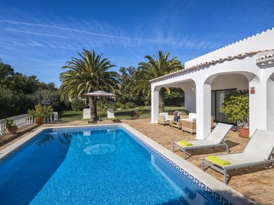 Photo for Beautiful Carvoeiro club villa with large garden, a short walk to tennis centre