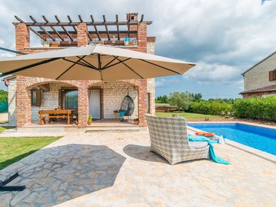 Photo for Beautiful authentic stone holiday house with private swimming pool and garden