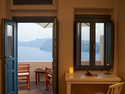 Photo for Santa Irini | Cave Sunset Villa in Santorini