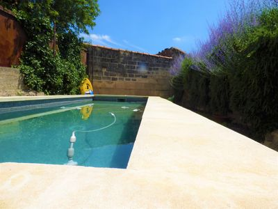 Photo for Beautiful Provencal village house with pool and spa