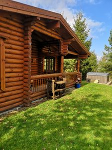 Photo for 3 Bedroom Lakeside Cabin With Hot Tub