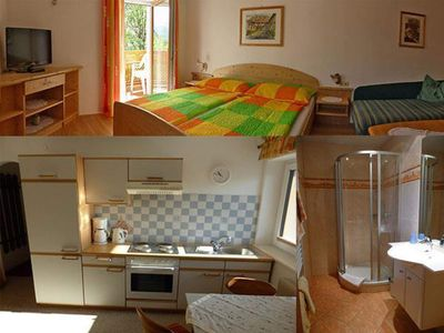 Photo for Apartment 1 // living-sleeping./ Shower, WC, Bal - Hanke, apartments