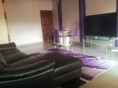 Photo for 3BR Apartment Vacation Rental in Yaoundé, Région du Ctre