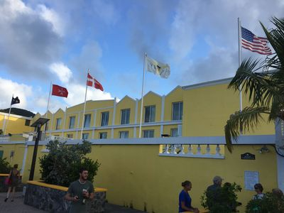 St. Croix has flown the U.S. flag since it became a territory in 1917.