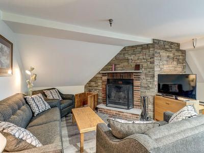 Photo for NEW LISTING! Newly remodeled condo near bus to slope w/shared pool/hot tub/sauna