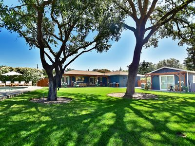 Photo for New Listing! Fantastic w/ Pool, HotTub, & Bocce; Just minutes to Downtown Sonoma