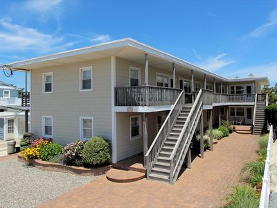 """Photo for 1 bedroom 1 bath 2nd floor unit features its own """"private rear"""" sun deck"""
