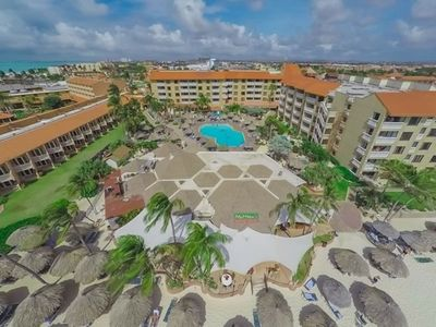 Photo for Casa del Mar Beach Resort, Aruba. Two bedroom at this resort on the beach!