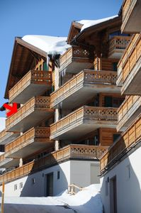 Photo for Les Crosets, Luxury, comfortable, ski in/out,180° views, 2 interior parking