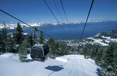 1.5 miles to Heavenly Ski Resort or take the ski bus from the corner