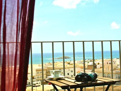 Photo for Luxury apartment with sea views in a corner of Cabo de Gata