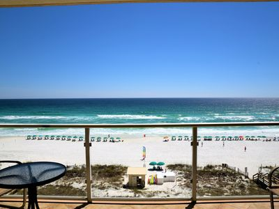 Photo for RENOVATED- NEW FURNITURE/SHOWER -Directly on the Gulf  2/2- FREE BEACH SERVICE