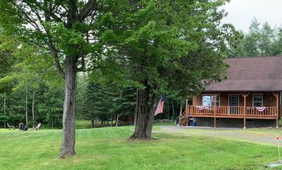 Photo for Newly renovated 3 bedroom property off Dallas Hill Road - easy to snowmobile from!