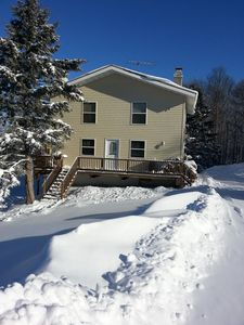 Photo for *SKI/SNOWMOBILE* ON MOUNTAIN SHORT WALK .25 MILES TO LODGE & LIFTS - BRAND NEW!