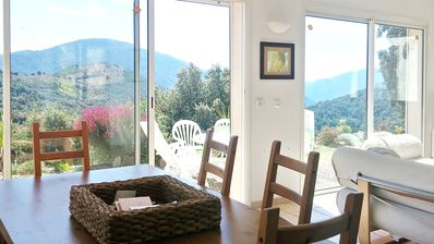 Photo for Beautiful villa with mountain view
