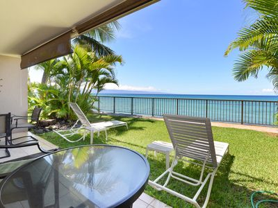 Photo for Your very own Private Oasis!10 ft from oceans edge! Very Unique!