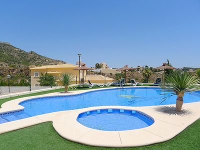 Photo for Apartment 840 m from the center of Calp with Parking, Internet, Washing machine, Air conditioning (90531)