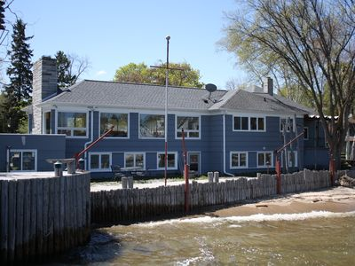 Photo for The Boat House with its own private dock and 140 feet of shorefront