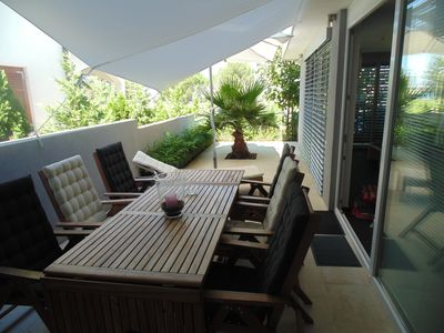 Photo for Apartment for 5 persons, 150 m from the beach, with sea view - number 5
