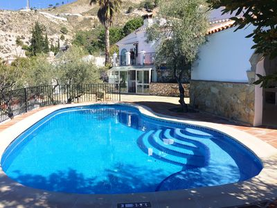 Photo for Katia house with private pool for 6 people in Cómpeta