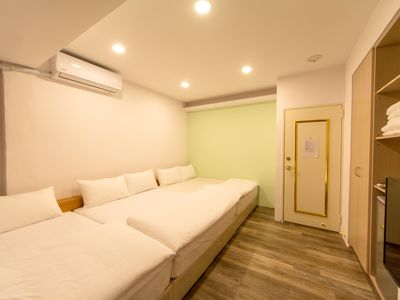 Photo for Simple Room for 5 (2 min walk to Fengjia Night Market)