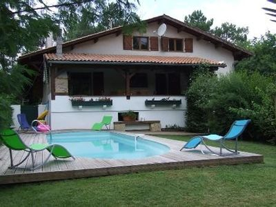 Photo for Arcachon bay. Villa with pool. Great benefits. The Teich
