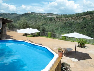 Photo for 2 bedroom Villa, sleeps 5 in Caramagna Ligure with Pool, Air Con and WiFi