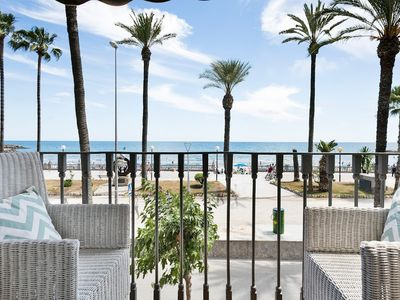 Photo for In the center of Sitges with Internet, Air conditioning, Lift, Terrace (647292)
