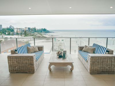 Photo for 🍸Luxury Kings Beach Penthouse🍸 Large Outdoor Balcony, Ocean Views, 2 Mins to Bea