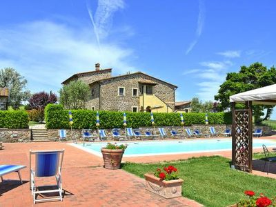 Photo for Podere San Pietro, Montecatini Val di Cecina  in Siena - 4 persons, 2 bedrooms