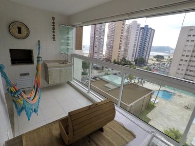 Photo for IN SANTOS, LEISURE AND COMFORT WITH A VIEW TO THE SEA !!