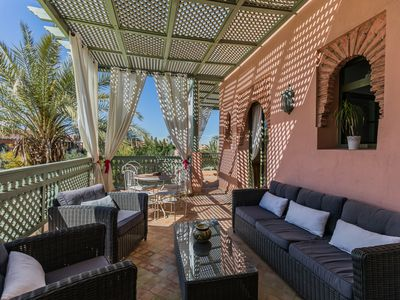 Photo for Luxury Penthouse 145m triple terrace with Housekeeper Marrakech Palmeraie